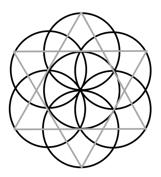 1 Metatron's Cube Fay Kelley